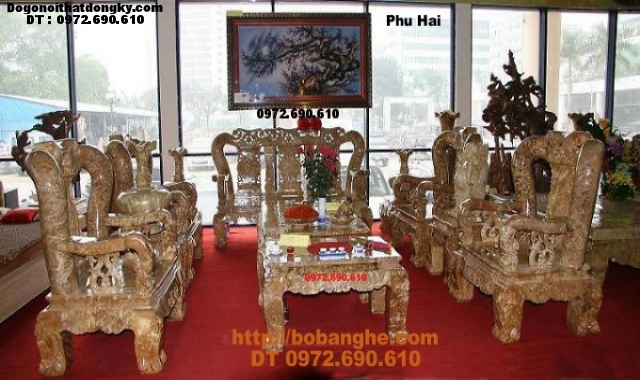Bộ bàn ghế gỗ nu kiểu Minh Quốc NG10