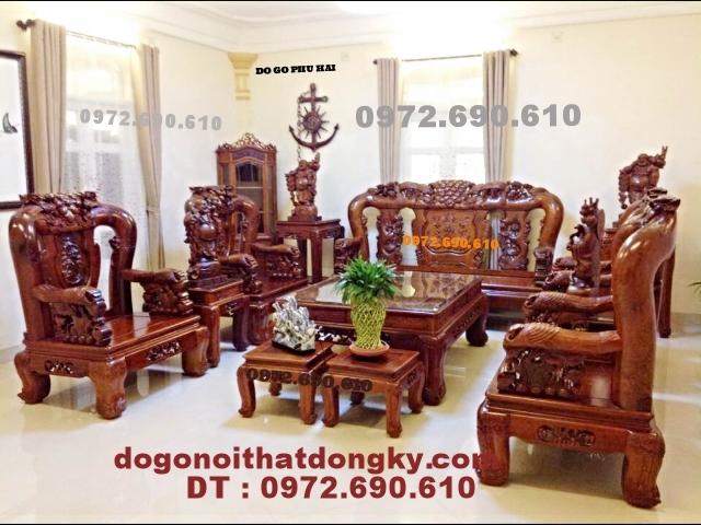 Bo ban ghe dong ky kieu Cong phuong vai 14 BG43