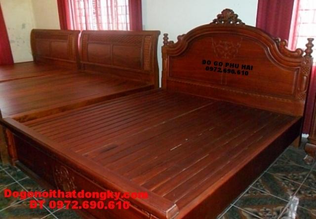 Giường ngủ đẹp, Giường ngủ dogonoithatdongky.com GN33