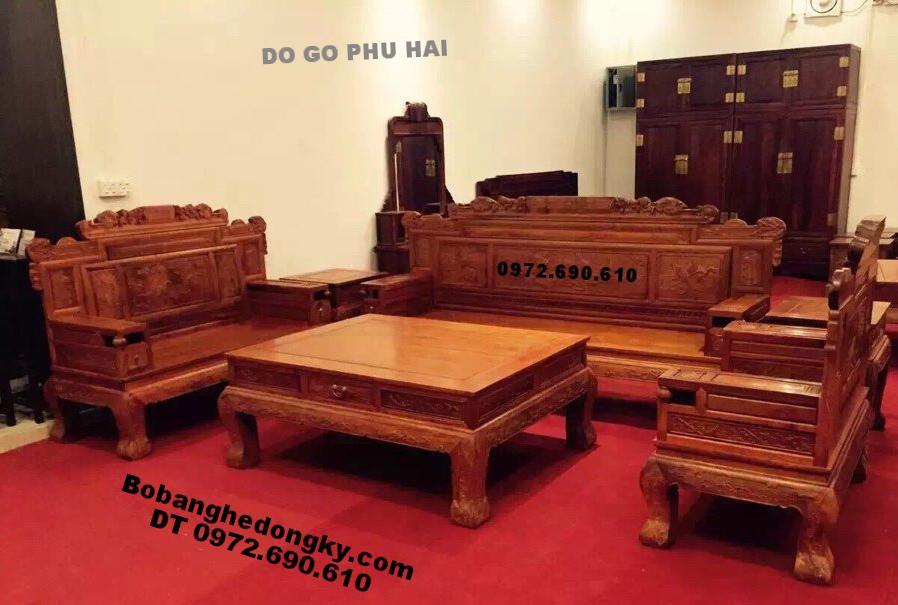 Bộ Bàn Gỗ Ghế Đẹp Dành Cho Căn Hộ Sang B213