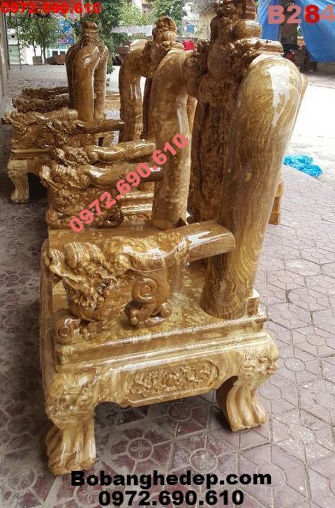 +16 Bàn Ghế Gỗ Ngọc Nghiến Đẹp Dogodongky.net.vn B284