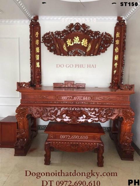 Bán Mẫu Bàn Thờ Tứ Linh Tại Quảng Ninh, Móng Cái