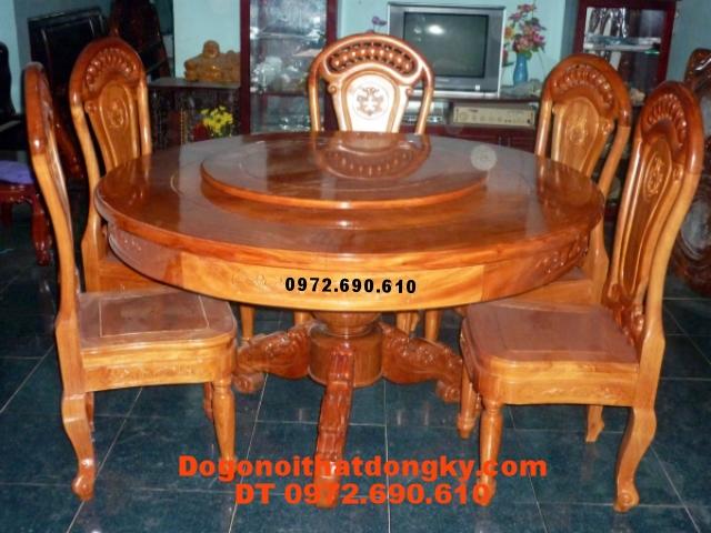 Nơi sản xuất Bộ bàn ghế phòng ăn bàn Tròn BT10-6
