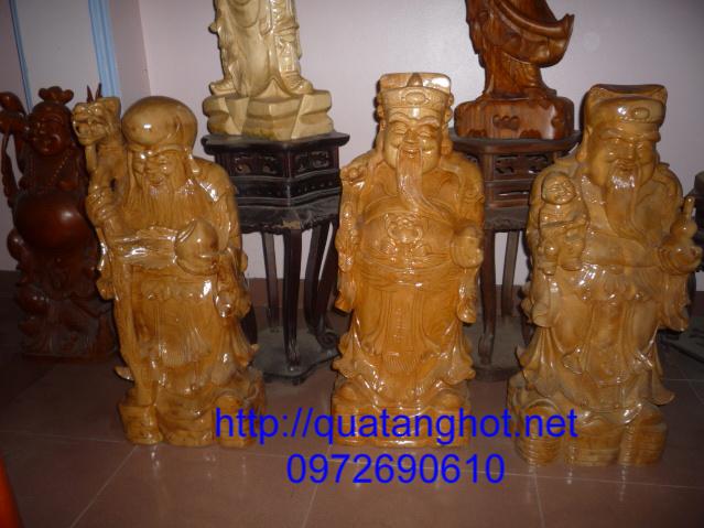 Ba Ông Tam đa, Ông Phúc Lộc Thọ gỗ Pomu TĐ01