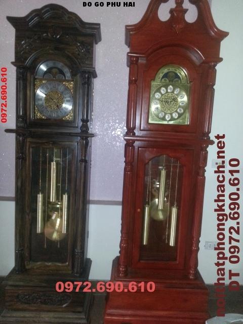 Đồng hồ cây gỗ mun kiểu Cổ điển ĐH35