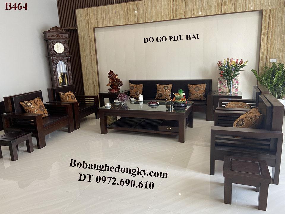 Bộ Bàn Ghế Sang Trọng Hiện Đại Xu Hướng 2021 B464