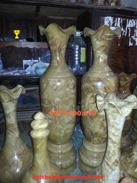 Đồ nội thất ,Lộc bình gỗ nu nghiến LBN14