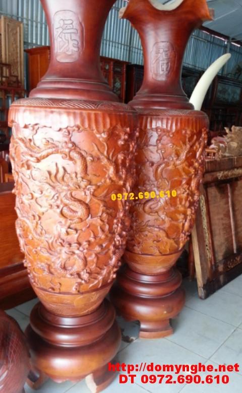 Quà biếu : Đại Lộc Bình Cham Cửu rồng LB34