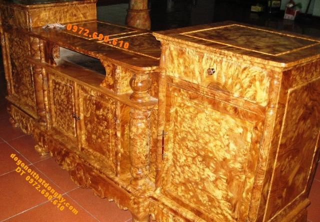 Nơi bán Kệ TiVi ,Tủ Vô tuyến gỗ Nu nghiến TVL01