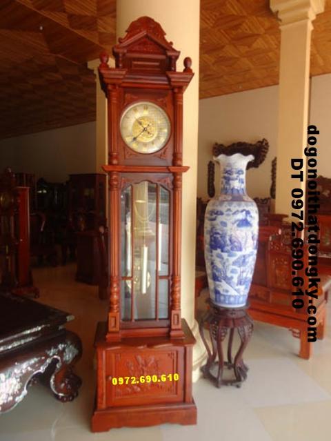 Đồng hồ cây gỗ hương kiểu Đức ĐH12