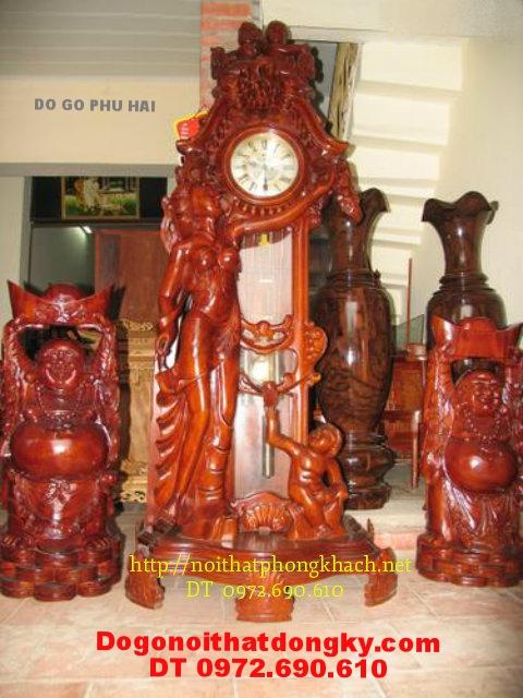 Đồng hồ cây Dạng cổ máy HQ ĐH19