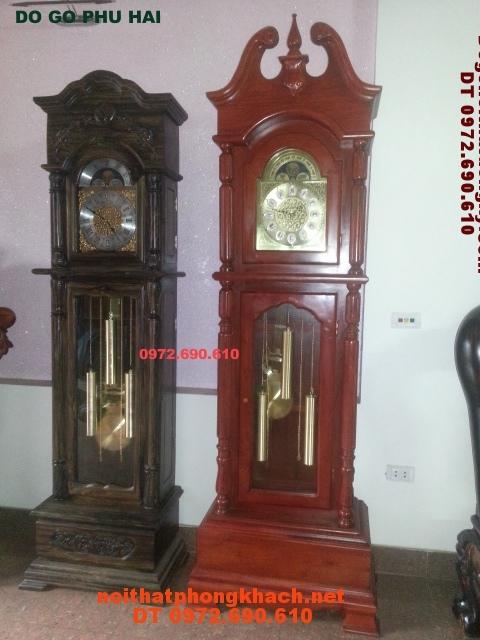 Đồng hồ cây gỗ hương kiểu dáng cổ ĐH36