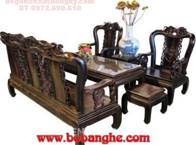 Bộ bàn ghế phòng khách minh quốc đào MSC01