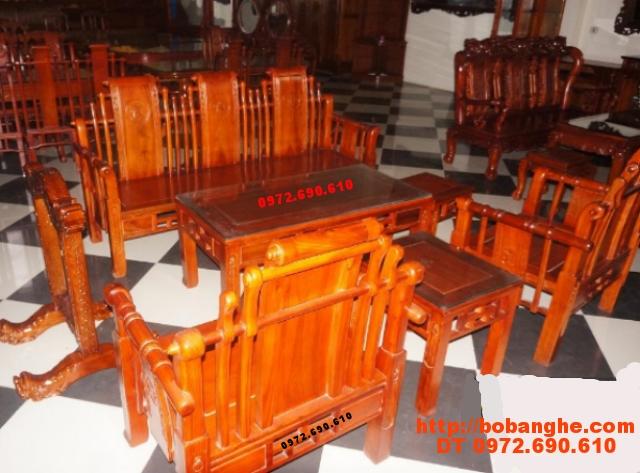 Bộ bàn ghế phòng khách Tần Thủy Hoàng TTH02