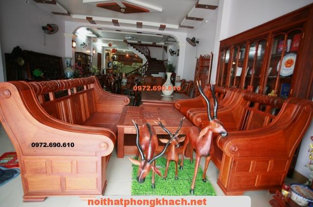 Bộ bàn ghế Hộp Kiểu Đài Loan Gỗ Hương HT04