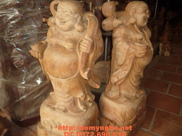 Quà tặng sếp Phật Di Lặc Gỗ Hương DL7