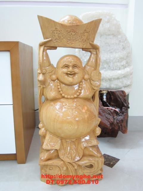 Quà tặng tân gia Phật Di Lặc Gỗ Pơ Mu DL5