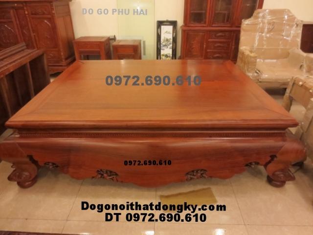 Sập gỗ kiểu cổ, Sập nằm gỗ hương SG18