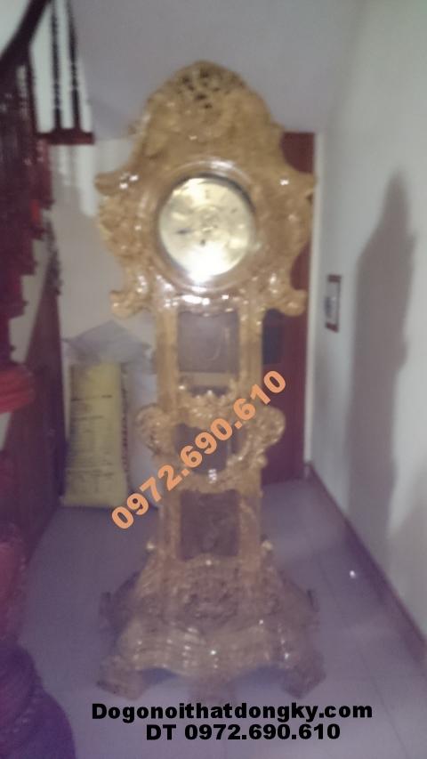 Đồng hồ cây Độc và hiếm gỗ ngọc nghiến DH48
