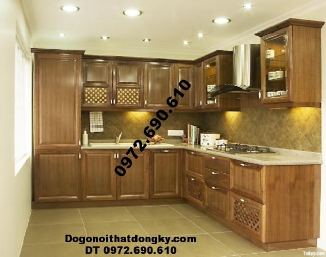 Mẫu tủ bếp đẹp cho phòng ăn đẹp và sang trọng TB5