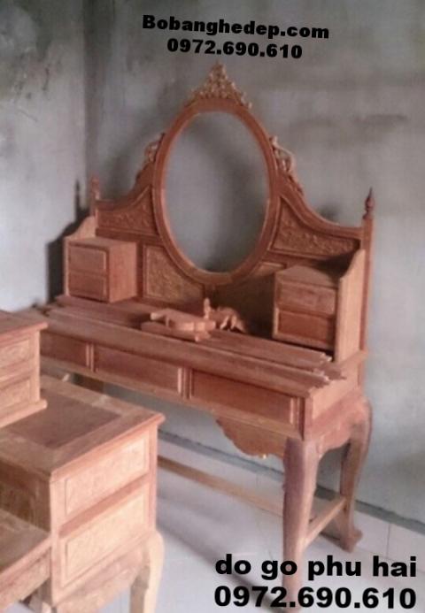 Bán Bàn trang điểm đẹp đồ gỗ phú hải BP43