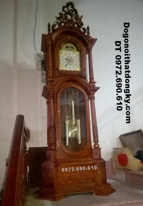 Đồng hồ máy cơ chuông đồng dogodongky.net.vn DH80