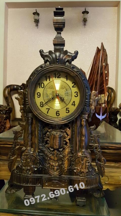 Đồng hồ trang trí bàn làm việc lãnh đạo DH85