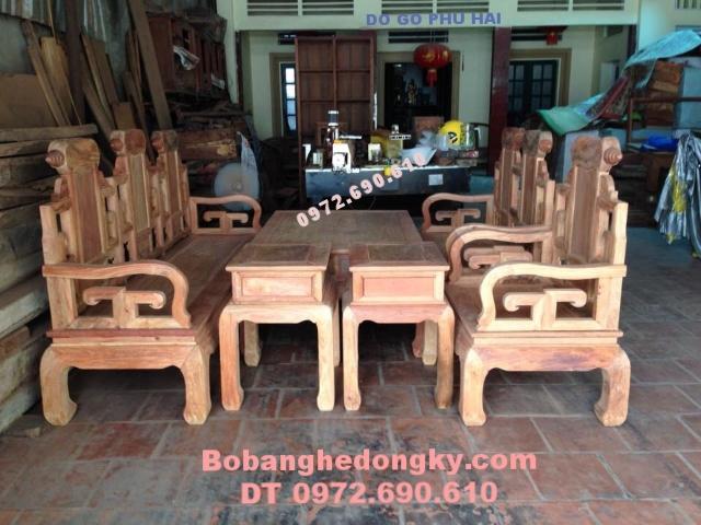 Đồ gỗ nội thất đẹp Bộ bàn ghế Đồng kỵ giá rẻ B188