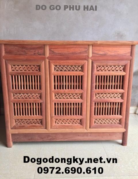 Tủ để giày, gỗ gụ hàng đẹp giá tốt nhất TG6