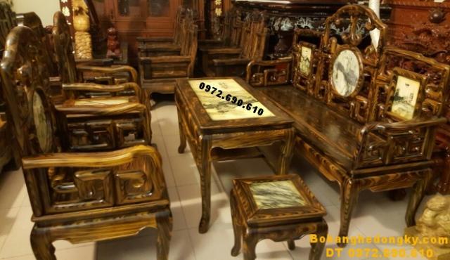 Bàn ghế đồng kỵ giá rẻ cho căn ho nhỏ xinh B198