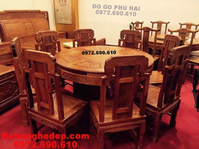 Bộ bàn ăn mẫu đẹp cho phòng ăn sang trọng BA95