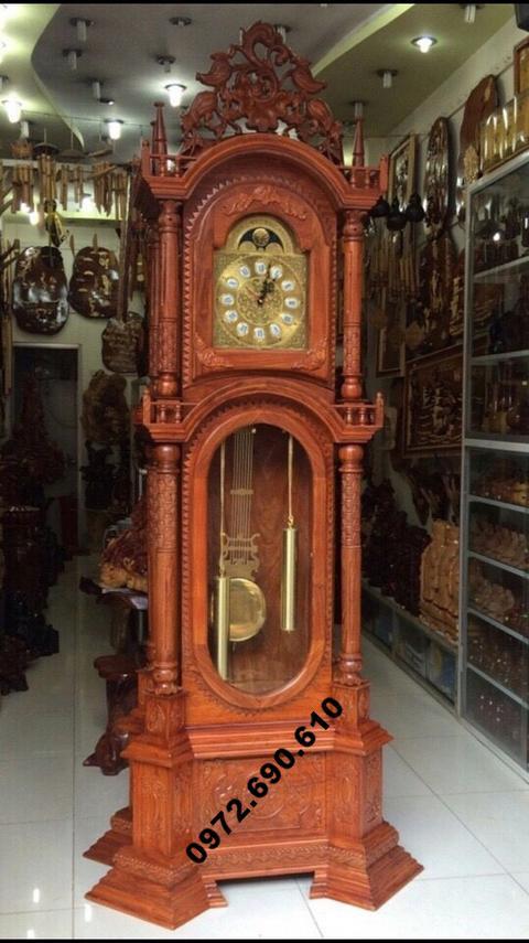 Đồng hồ quả lắc, Đồng hồ trang trí phòng khách DH100