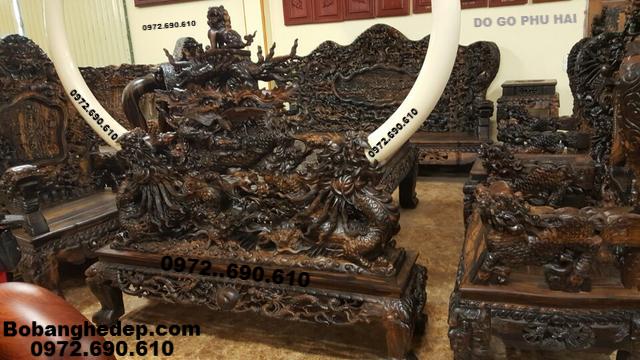 Bộ Bàn Ghế Phòng Khách Đẹp Cho Không Gian Rộng B245