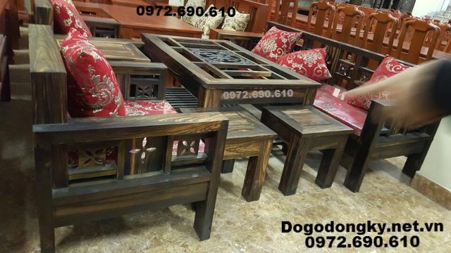 Bộ bàn ghế phòng khách đẹp gỗ mun ⓪⑨⑦(2)⑥⑨⓪⑥①⓪...