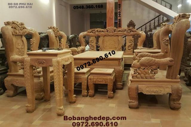 Bộ bàn ghế gỗ hương đẹp cho Đại gia ⓪⑨⑦(2)⑥⑨⓪⑥�...
