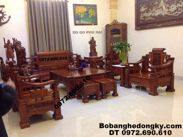 Bộ Bàn Ghế Đẹp Cho Phòng Khách Vip B255