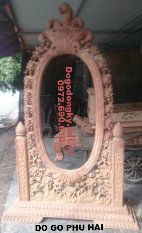 Gương Trang Trí Phòng Khách, Gương Soi Kiểu Cổ Điển G.9
