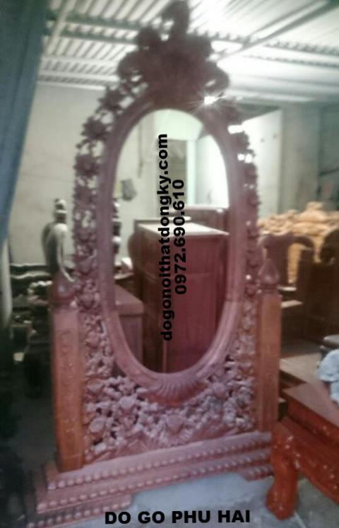 Gương Để Phòng Khách,Gương trang trí kiểu cổ điển G.10