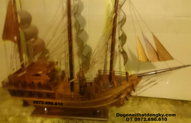 Mẫu Thuyền Buồm Đẹp, Quà Tặng Gỗ Mỹ Nghệ TB9