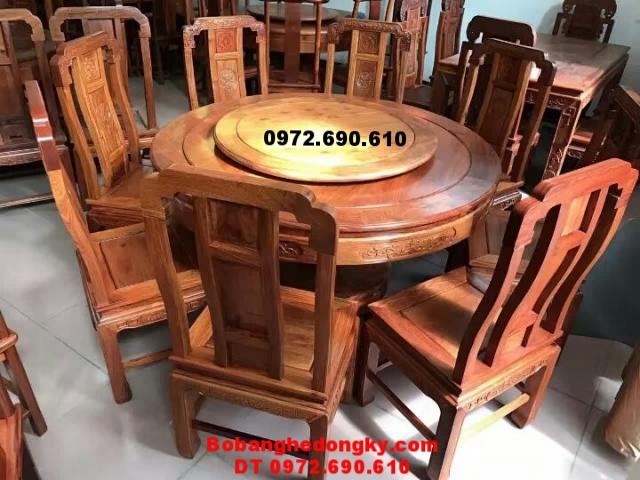 Bộ Bàn Ăn Tròn Xoay Bobanghedep.com BA103