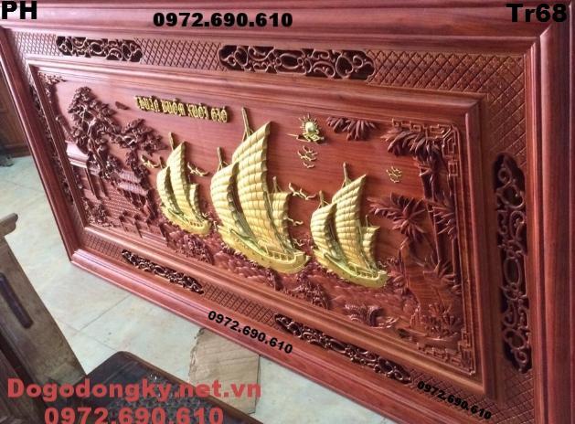 Tranh Thuận Buồm Xuôi Gió, Tranh Phong Thủy Đẹp Tr68