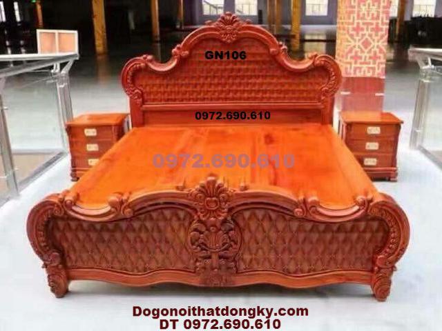 Mẫu Giường Ngủ Đẹp,Chuyên sản xuất giường ngủ đẹp gỗ tự nhiên giá rẻ. các mẫu giường ngủ gỗ mẫu mới hợp với không gian phòng ngủ gia đình