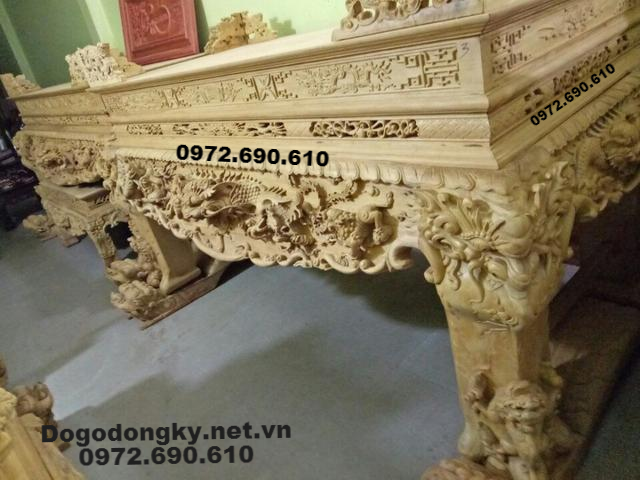Bàn Thờ Gỗ Đẹp Nhất Dogonoithatdongky.com ST111