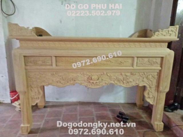 Bàn Thờ Gỗ Đẹp Giá Rẻ Dogodongky.net.vn ST113