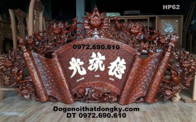 Bộ Cuốn Thư, Câu Đối Đẹp Gỗ Gụ Dogodongky.net.vn HP61