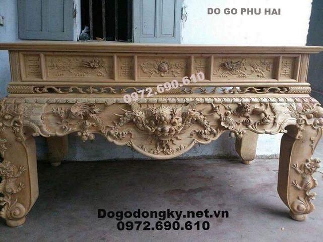 Bán Bàn Thờ Bằng Gỗ Đẹp Dogonoithatdongky.com ST135