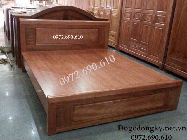 Mẫu giường ngủ đẹp giá rẻ nhất, Giường ngủ gỗ Dổ...
