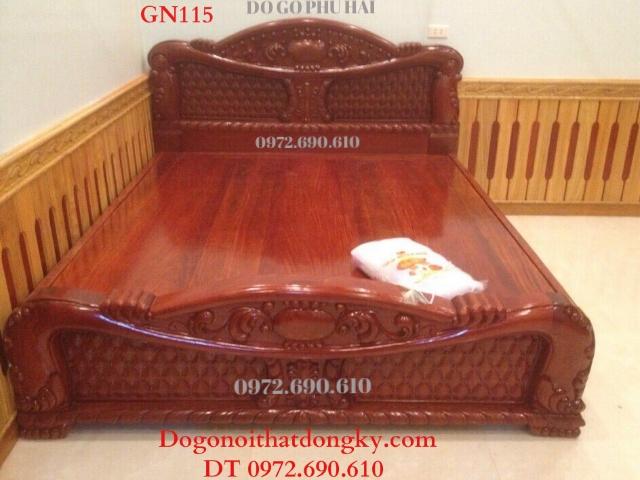 Nơi Bán Giường Ngủ Mẫu Đẹp cho phòng ngủ hiên đại GN115