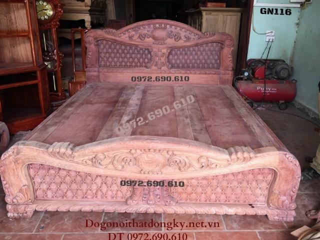 Các Mẫu Giường Ngủ Đẹp cho phòng ngủ sang trọng GN116