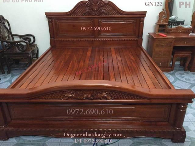 Hàng Chục Mẫu Giường Ngủ Đẹp Cho Phòng Ngủ Hiên Đại GN122...